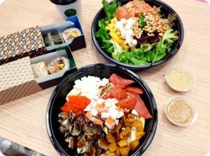 Design Your Own Sushi & Salads at Maki-san