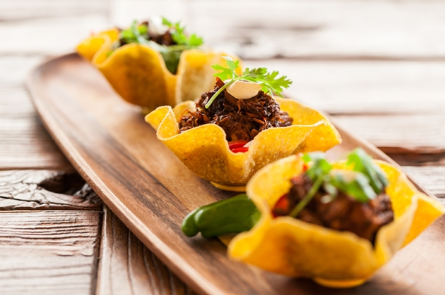 Lower East Side Taqueria - Pork Belly tacos (trio)