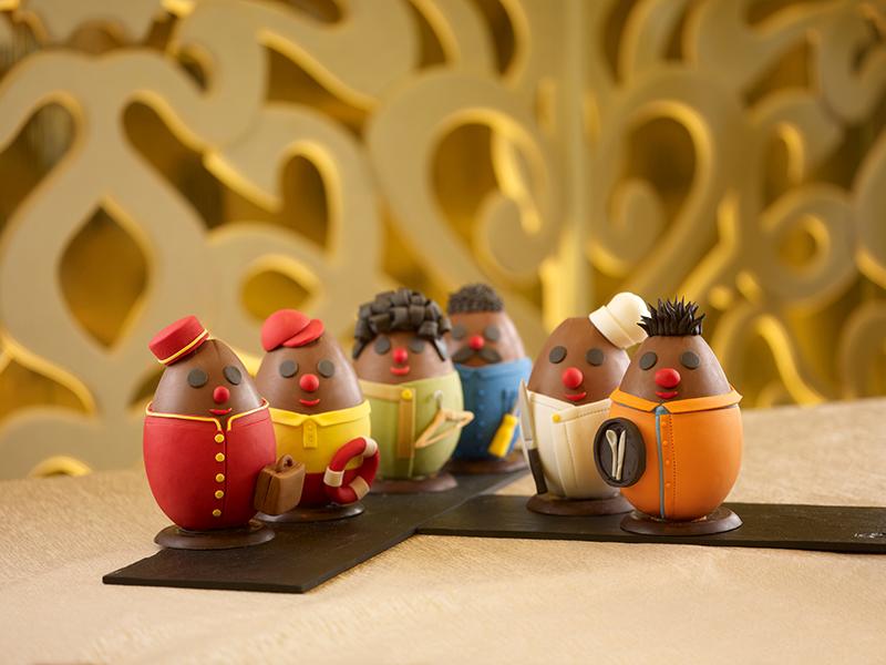 Shangri La Fashion Collection Easter Eggs for Gourmet Adventures ApNC8DTi