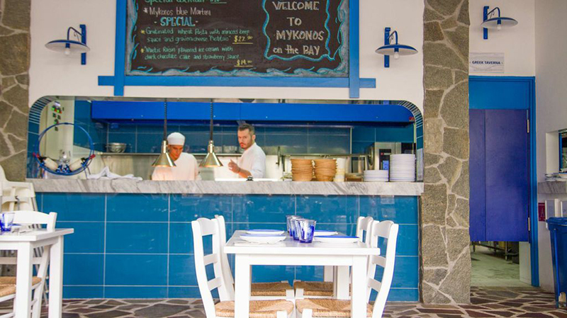 Greek Cuisine That Hits The Spot Mykonos On The Bay