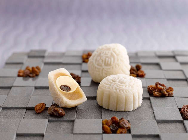 Szechuan Court_Snowskin Mooncake_Rum & Raisin - Review by Gourmet Adventures
