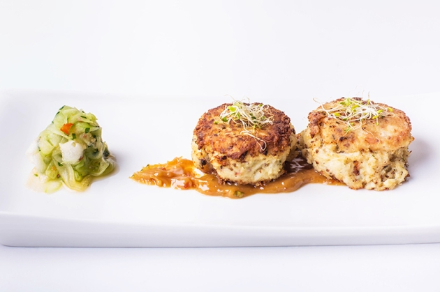 Clover Garden Pan-fried Crab Cakes - News by Gourmet Adventures