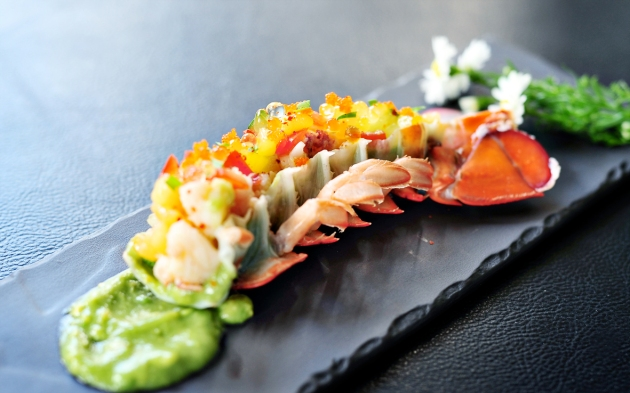 East 8 New York Fusion Tapas + Bar - Lobster Tail - Review by Gourmet Adventures