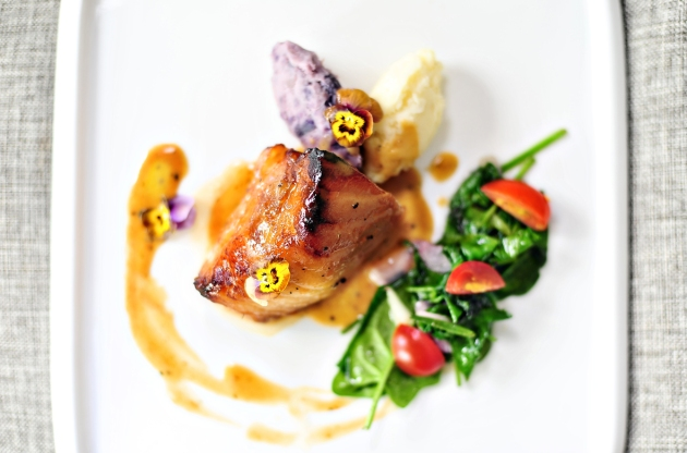 East 8 New York Fusion Tapas + Bar - Seabass - Review by Gourmet Adventures