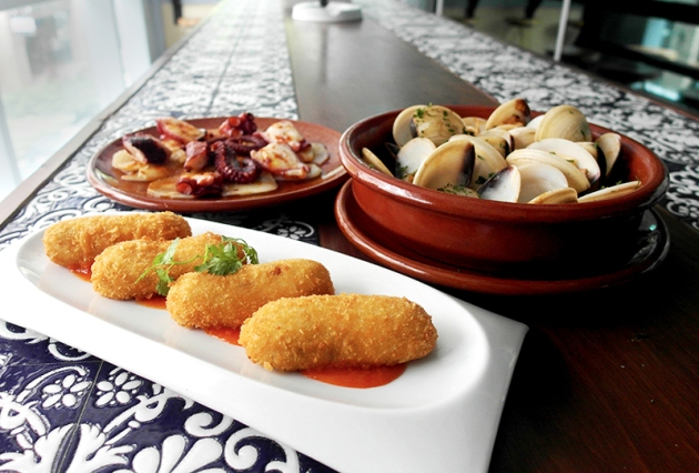 La Taperia (former Terry's) - Ground Shot Tapas - Review by Gourmet Adventures