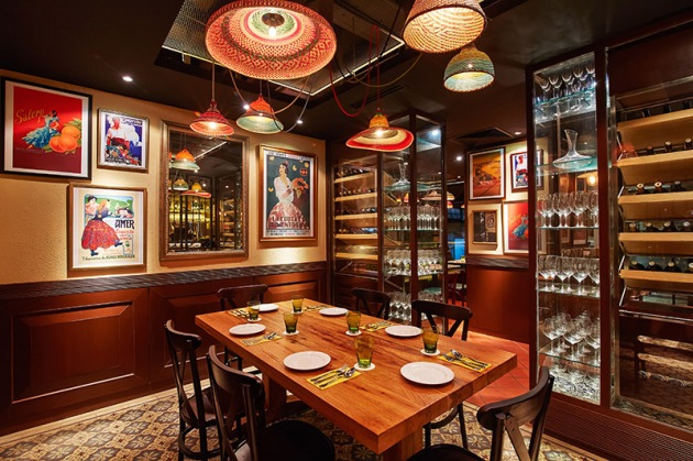 La Taperia Private Dining Table - Review by Gourmet Adventures