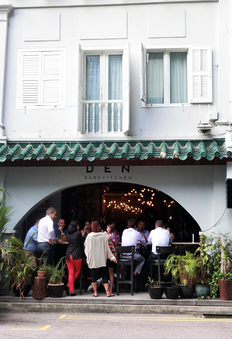 DEN Bar   Exterior   Review By Gourmet Adventures