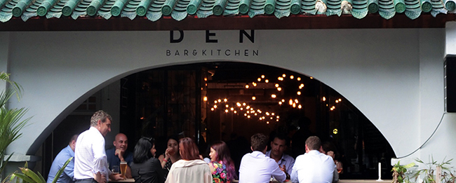European Style Bistro And Bar DEN Takes Over Bartini