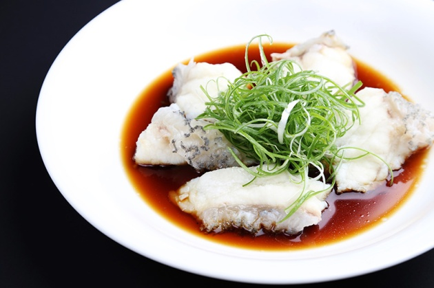 Diamond Kitchen Hong Kong Steamed Giant Grouper - Review by Gourmet Adventures