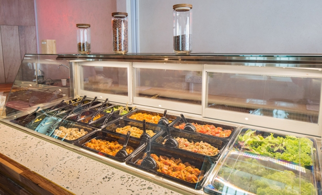 Aloha Poke - Salad Bar - Review by Gourmet Adventures
