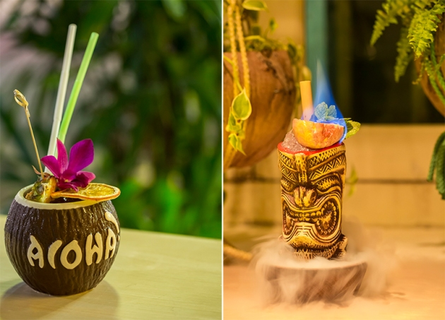 Aloha Poke Tiki Cocktails - Reivew by Gourmet Adventures