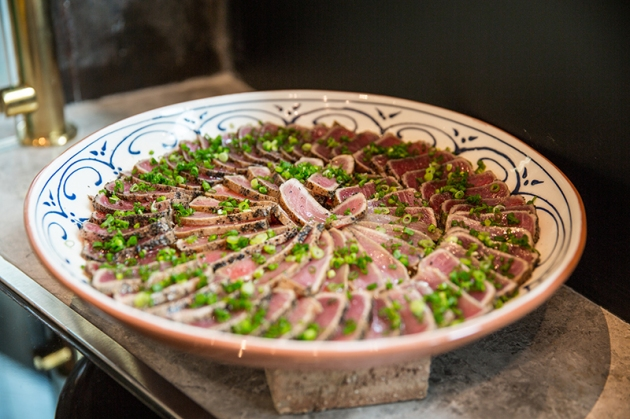 Grain Traders - Seared Tuna - Review by Gourmet Adventures