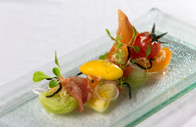 Portico Prime at Dempsey Hill - Collection of Heirloom Tomatoes - Review by Gourmet Adventures