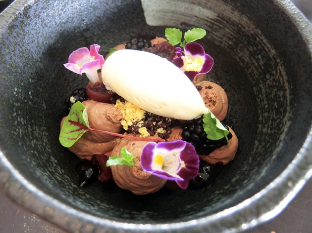Portico Prime at Dempsey Hill - Deconstructed Black Forest Dessert – Review by Gourmet Adventures