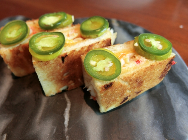 Adrift King Crab Melt - Adrift by David Myers - Review by Gourmet Adventures