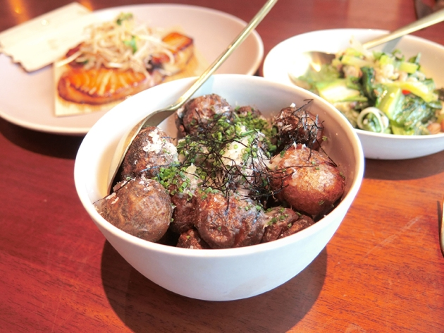 Baby Potatoes - Adrift by David Myers - Review by Gourmet Adventures