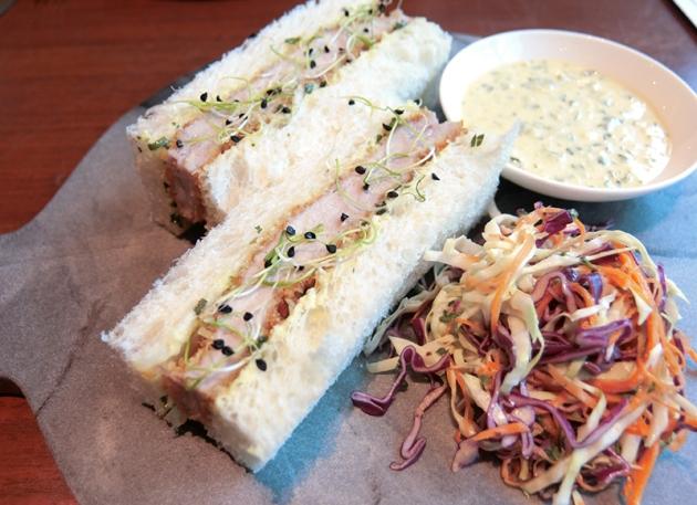 Pork Tonkotsu Sandwich - Adrift by David Myers - Review by Gourmet Adventures