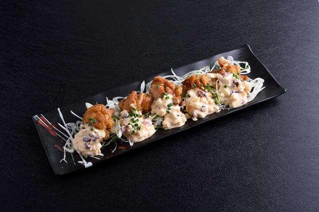 Ramen Keisuke Lobster King - Deep fried chicken with homemade tartar sauce $9.80 - Review by Gourmet Adventures