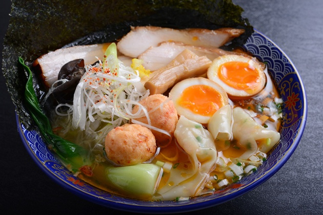 Ramen Keisuke Lobster King - Lobster Broth Ramen Special (Clear Soup) $19.90 - Review by Gourmet Adventures