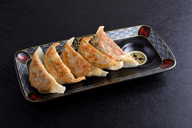 Ramen Keisuke Lobster King - Pork Gyoza 5pcs $8.80 - Review by Gourmet Adventures