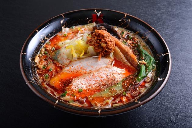 Ramen Keisuke Lobster King - Spicy Miso Lobster Broth Ramen $15.90 - Review by Gourmet Adventures