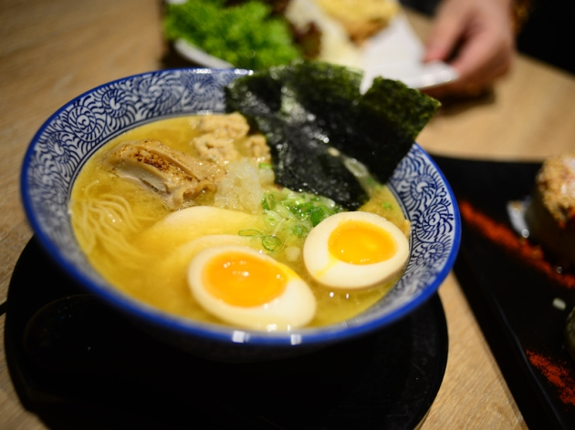 Menya Takeichi - Special Ramen - Review by Gourmet Adventures