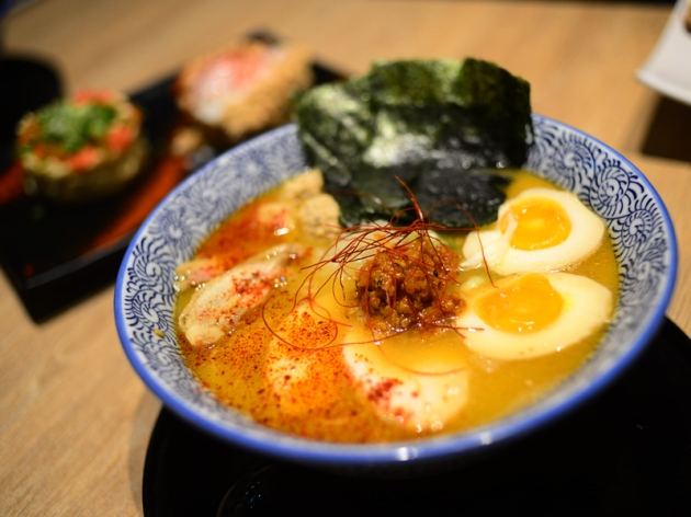 Menya Takeichi - Special Rich Spicy Ramen - Review by Gourmet Adventures