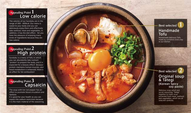 Tokyo Sundubu - Health Benefits of Sundubu - Review by Gourmet Adventures