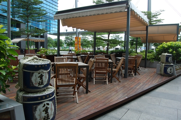 Akari Japanese Dining Bar - Alfresco (Daytime) - Review by Gourmet Adventures