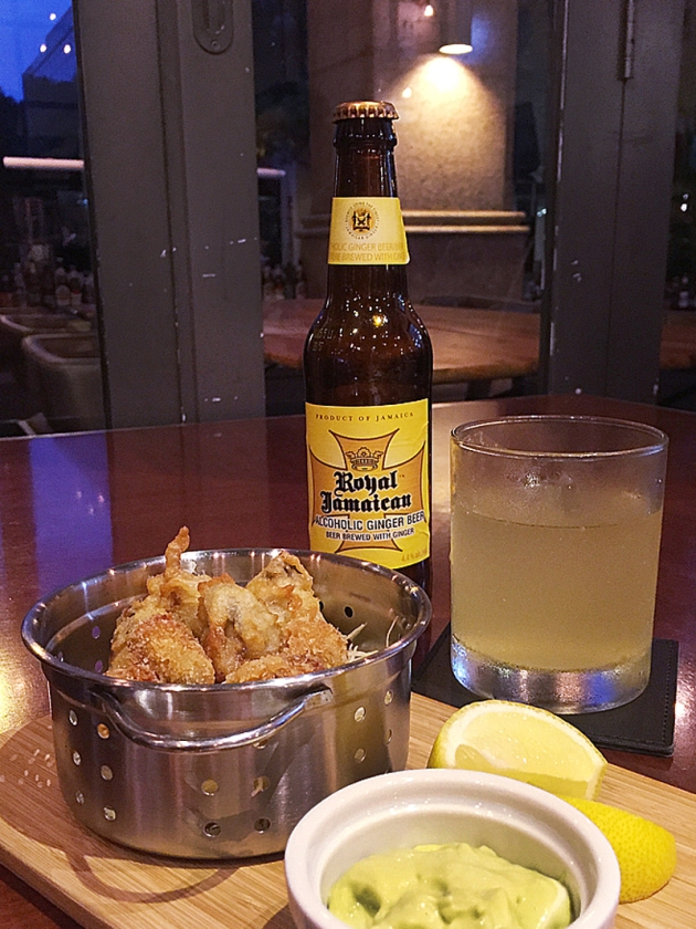 Greg's Seafood Shack by Park Hotel Group - Oyster Fritters - Review by Gourmet Adventures